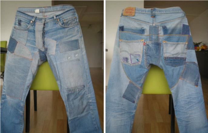 джинсы протираются между ног что делать