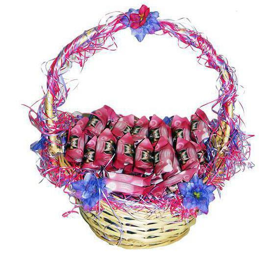 подарки ко дню учителя из конфет