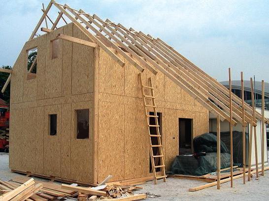 Строим щитовой дом своими руками