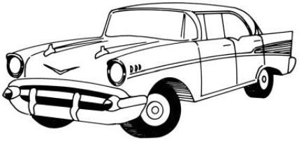 как нарисовать машины