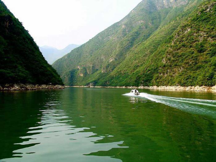 режим реки янцзы