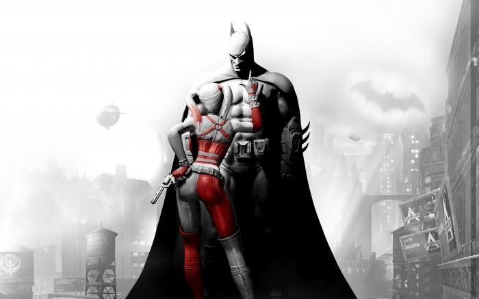 как бэтмен познакомился с женщиной кошкой
