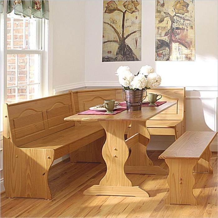 Деревянный стол для кухни своими руками фото 68