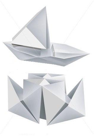 пароход из бумаги своими руками