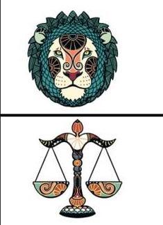 совместимость знаком весы и лев