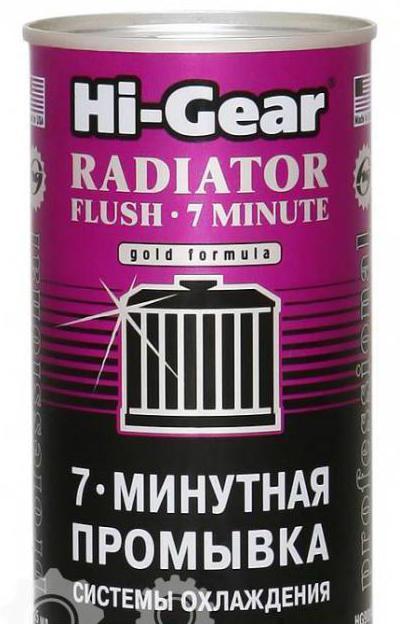 Чем лучше промыть радиатор печки