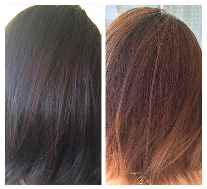 Как перекрасить крашенные хной волосы