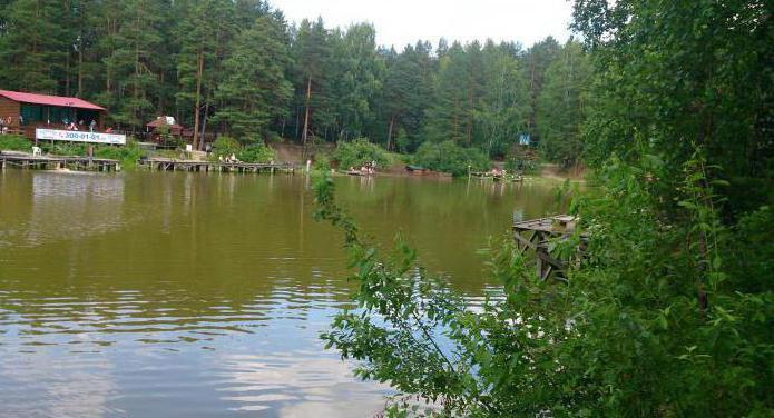 калиновское озеро рыбалка