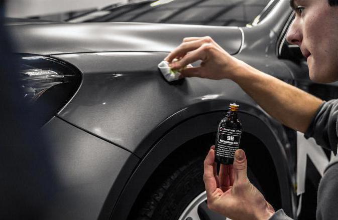 керамическое покрытие кузова автомобиля
