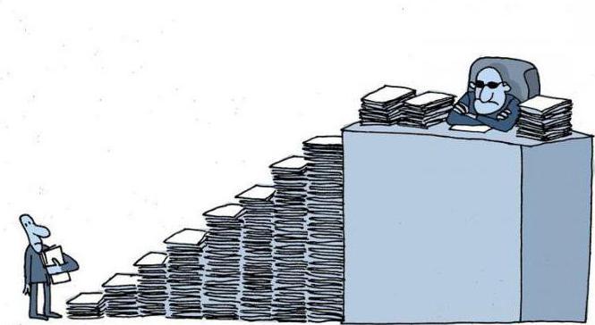 бюрократизация это