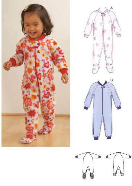 пижама детская выкройка простая