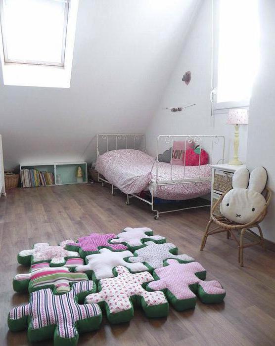 подушки напольные большие