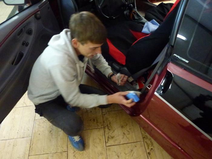Как покрыть машину жидким стеклом своими руками 96