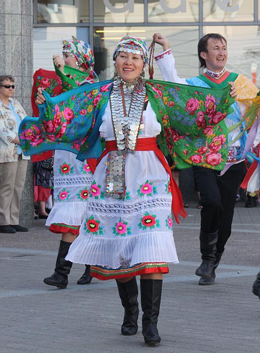 костюмы народов поволжья марийский