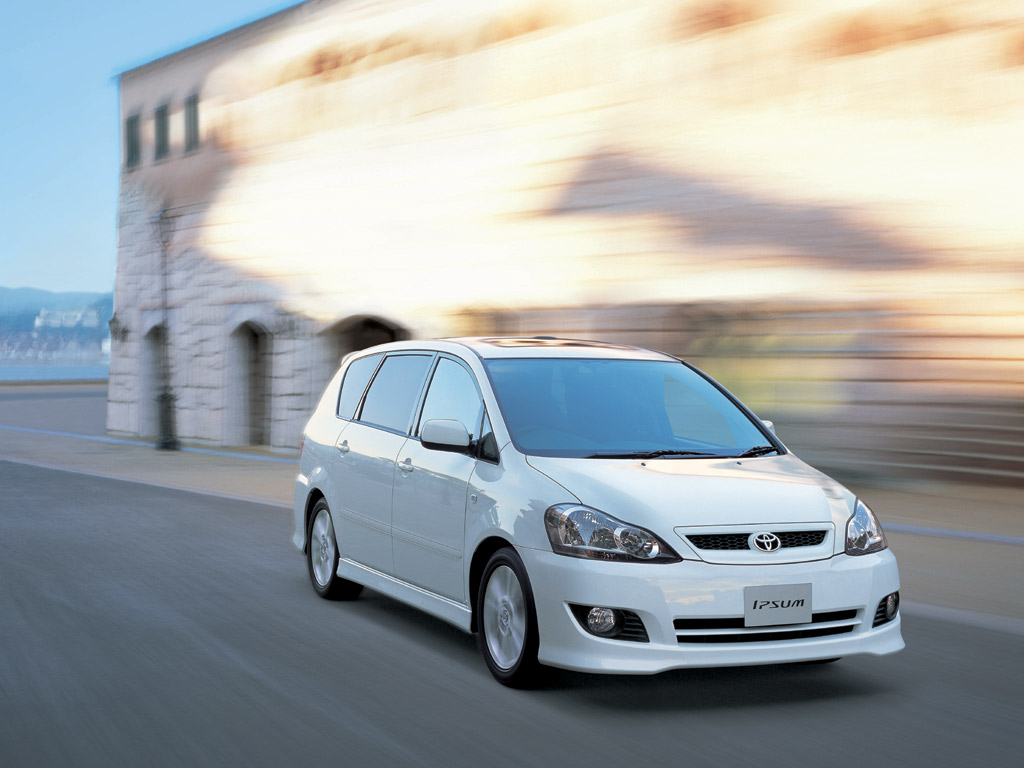 Toyota Ipsum в дороге
