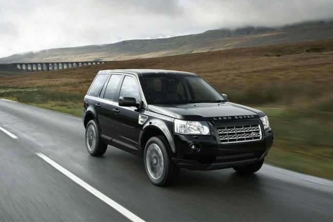 Range Rover Freelander в пути