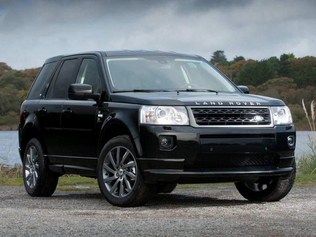 Range Rover Freelander черный