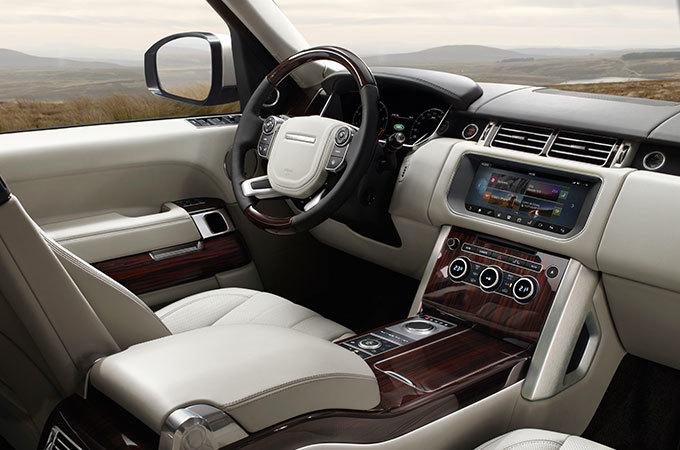 Range Rover Freelander салон