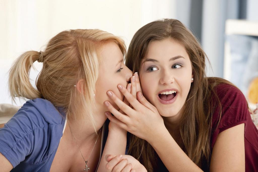 две девушки