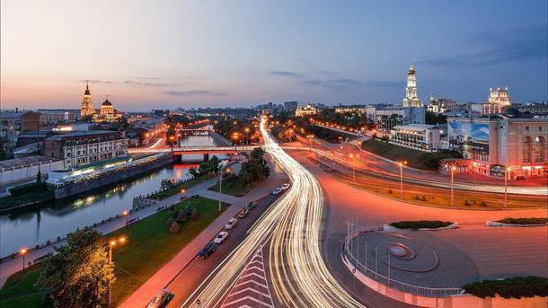 Путешествие по маршруту «Луганск-Харьков»
