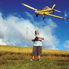 Как выбрать самолет на пульте управления?