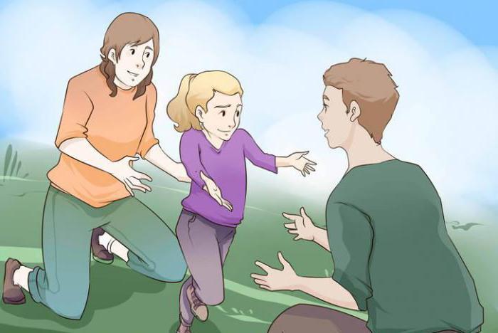 При разводе оставить ребенка отцу