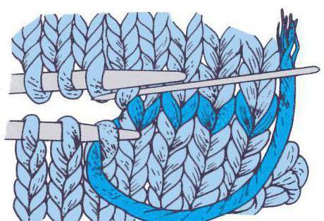 закрытие вязания иглой