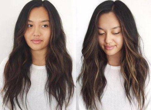 Как на волосах сделать блики