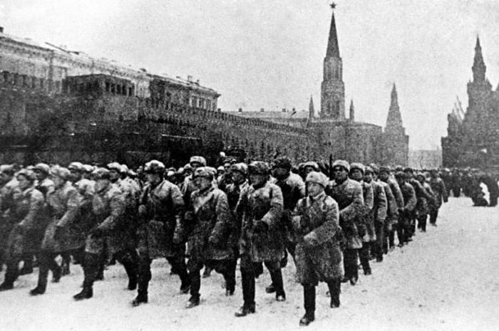 наступление немцев под москвой