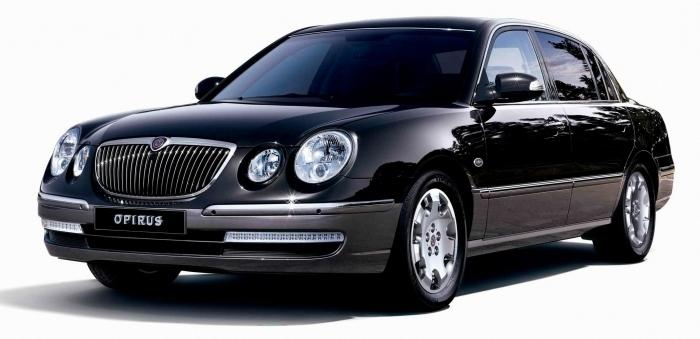 Необыкновенный корейский автомобиль «Киа-Опирус»
