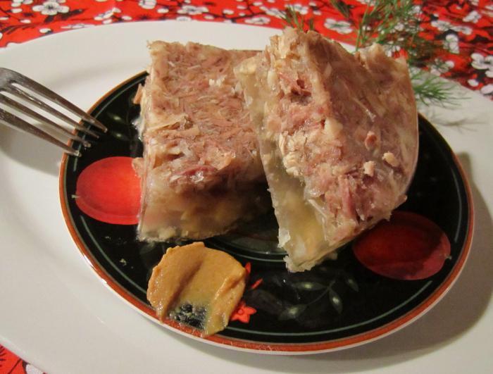 рецепт холодца из говяжьих ножек