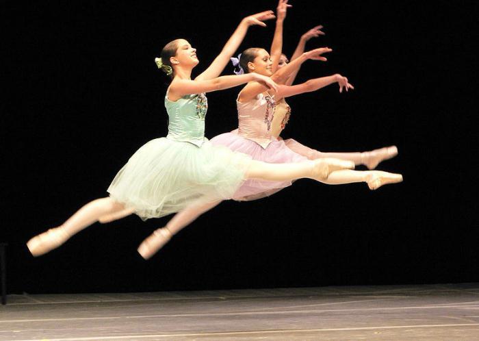 прыжки в балете название