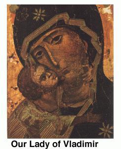 икона владимирская фото и значение