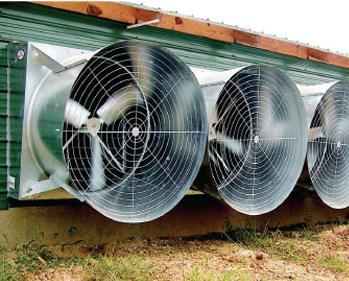 Монтаж промышленной системы вентилчции
