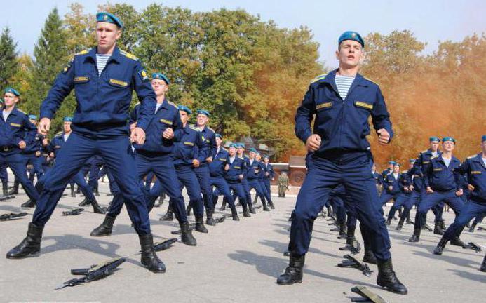 рязанское военное воздушно десантное командное училище