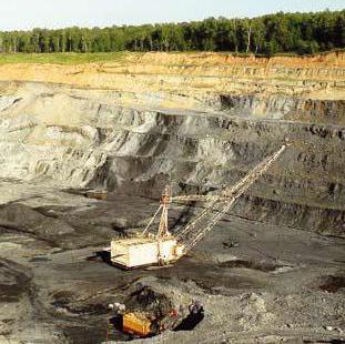 Месторождение полезных ископаемых в новосибирской области