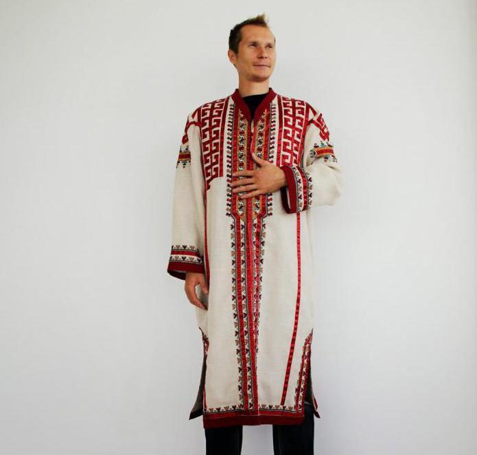 мужской чувашский национальный костюм