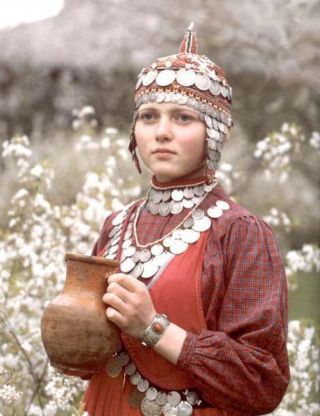 чувашский костюм фото