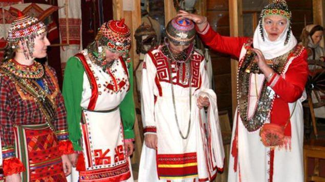 костюм чувашского народа