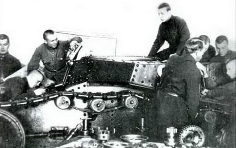 советский танк т 18