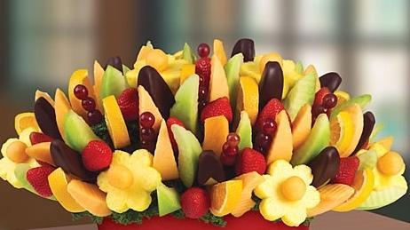 как красиво нарезать фрукты на стол