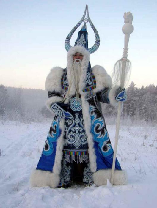 своими руками костюм снегурочки