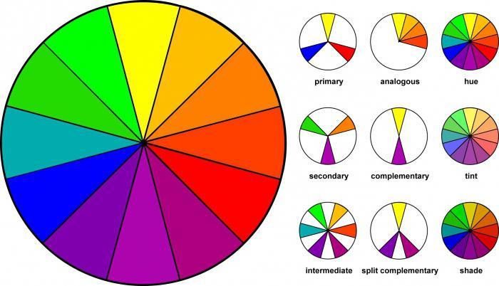 спектральный цветовой круг