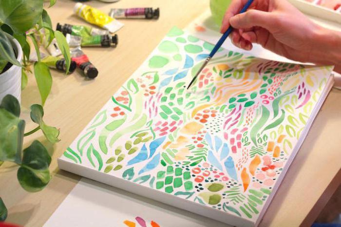 как научиться красиво рисовать акварелью