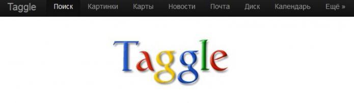 поисковая система taggle
