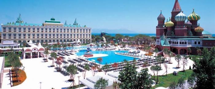 Отель Кремлин Палас Турция