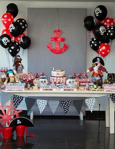 День рождения в пиратском стиле своими руками