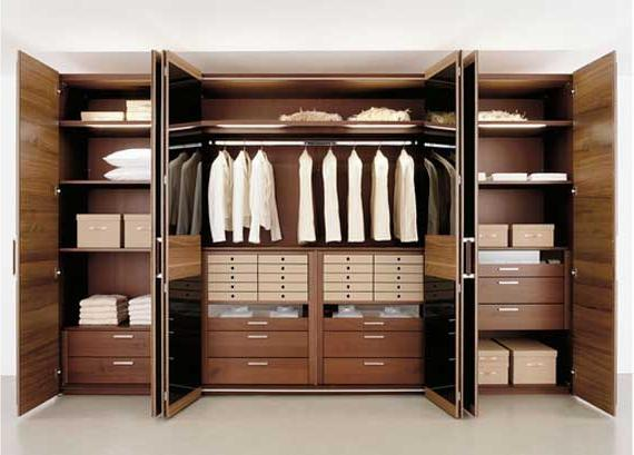 распашные шкафы для одежды