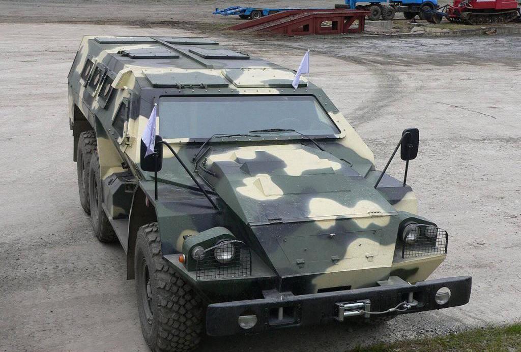 Бронеавтомобиль Булат