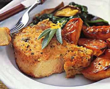свинина отбивная с морковью в духовке рецепты
